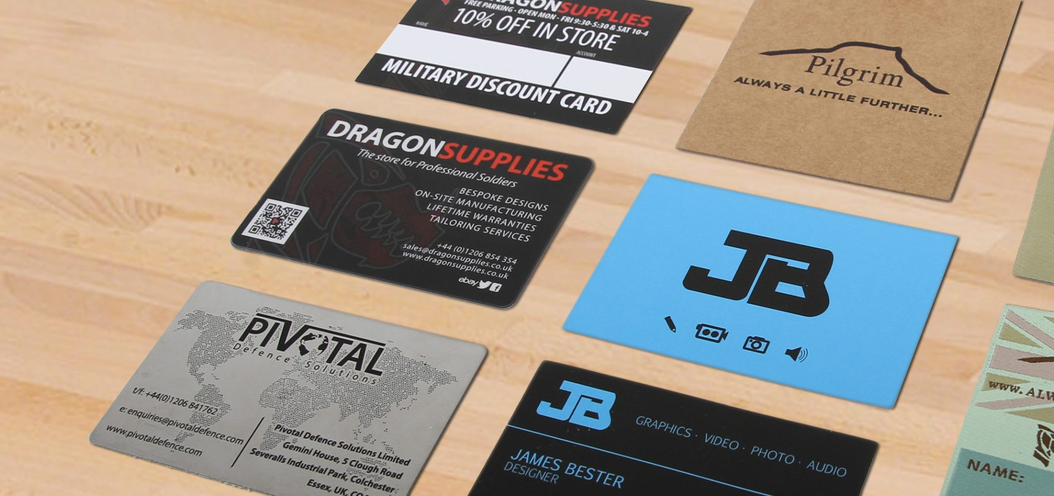 James Bester Business Cards